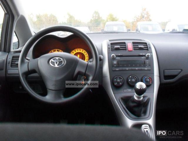 2009 Toyota Auris 1 33i R Vat Car Photo And Specs
