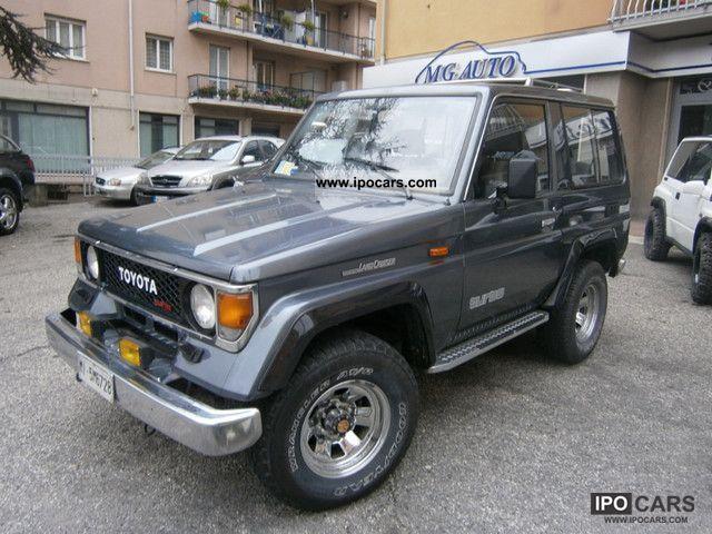 1991 toyota landcruiser lj 70 cinesino storico off road vehicle pickup 849681. Black Bedroom Furniture Sets. Home Design Ideas