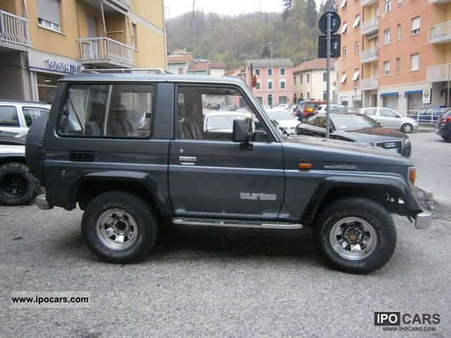 1991 toyota landcruiser lj 70 cinesino storico car photo and specs. Black Bedroom Furniture Sets. Home Design Ideas