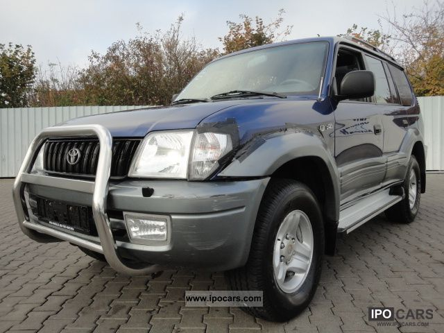 2002 Toyota  Landcruiser 3.0 D4D AUTOMATIC CLIMATE truck KJ95 Off-road Vehicle/Pickup Truck Used vehicle photo