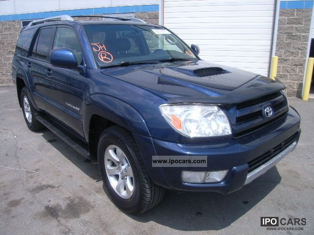 2005 toyota 4 runner car photo and specs. Black Bedroom Furniture Sets. Home Design Ideas