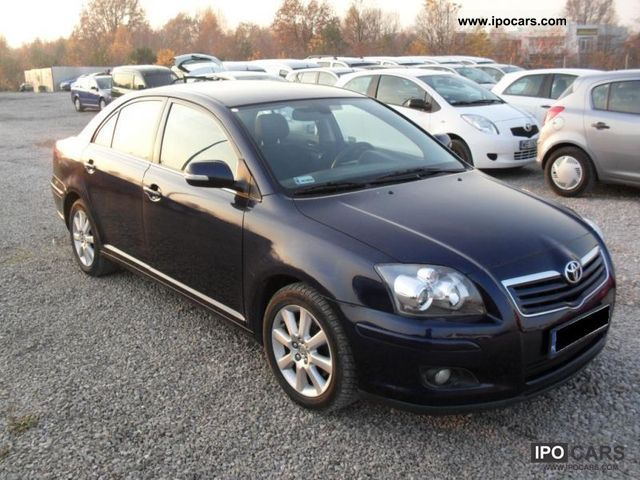 2008 toyota avensis 2 0 d4d sol 126km r vat car photo and specs. Black Bedroom Furniture Sets. Home Design Ideas