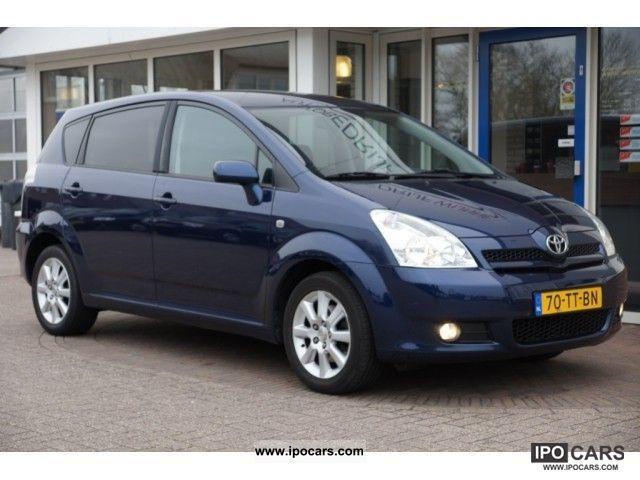 2007 Toyota  Verso 1.8 VVT-i 95kW dynamic (climate control / pa Van / Minibus Used vehicle photo