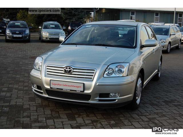 2003 Toyota  1.8 / Sitzheiz. / ESP / APC / cruise control Limousine Used vehicle photo
