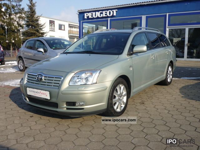 2005 Toyota  2.2 D-CAT Combi Executive, xenon, Sitzhz.1.Hand Estate Car Used vehicle photo
