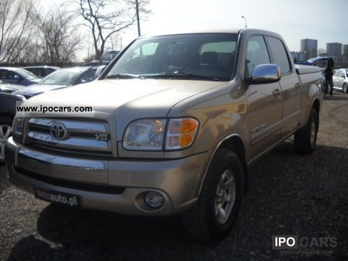 2004 Toyota  Tundra FAKTURA VAT23%! LPG, AIR, RADIO CD, WELUR Off-road Vehicle/Pickup Truck Used vehicle photo