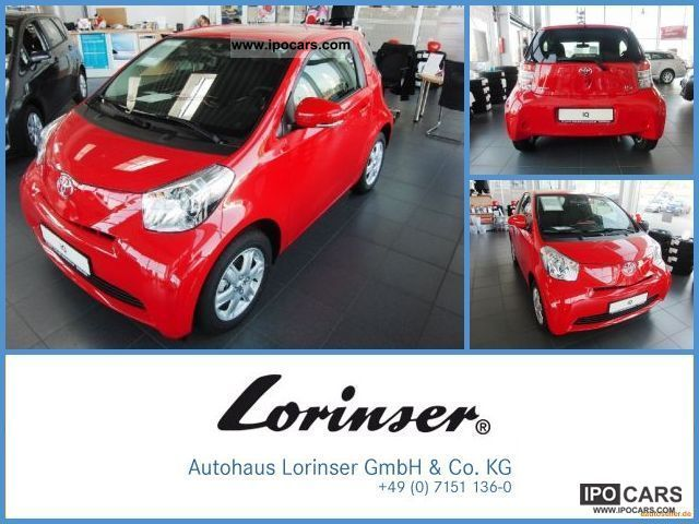 2012 Toyota  IQ 1.0 air / electric. Windows ZV Sports car/Coupe Employee's Car photo