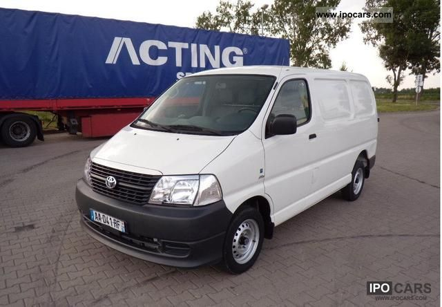 2009 Toyota  2.5 D4D 117ps AIR truck 10 700 NET Van / Minibus Used vehicle photo
