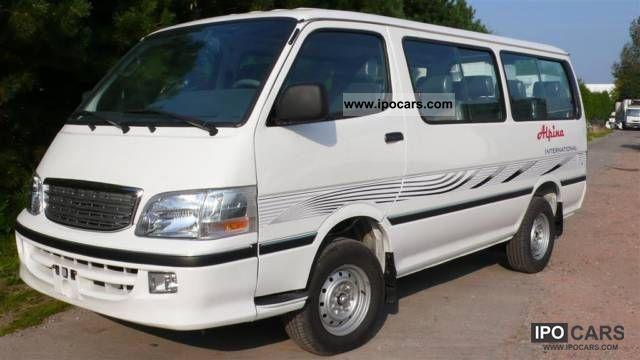 2011 Toyota  TECHNOLOGY 2.2i PETROL 15 SEATS YEAR 2012 Van / Minibus New vehicle photo