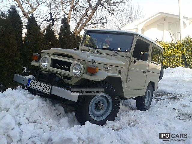 Toyota  Land Cruiser BJ 40 1978 Vintage, Classic and Old Cars photo