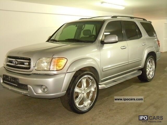 2001 Toyota  Sequoia full equipment 2x AIR LM 24 7 seater Off-road Vehicle/Pickup Truck Used vehicle photo