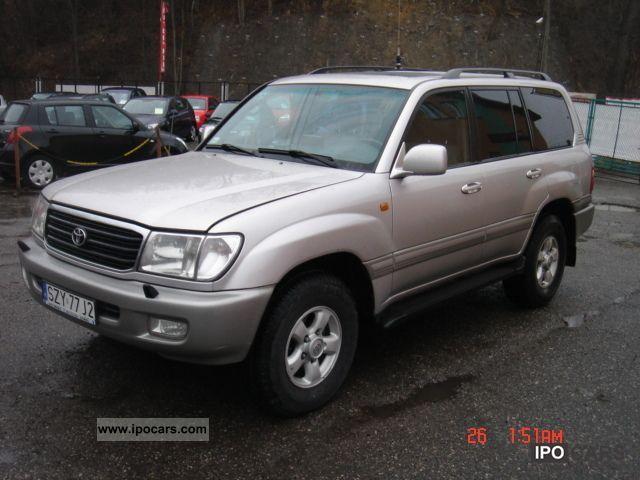 2000 Toyota  100 Off-road Vehicle/Pickup Truck Used vehicle photo