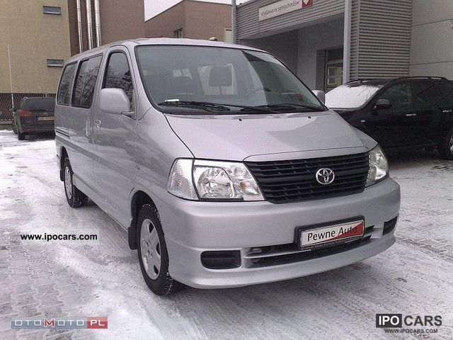 2008 Toyota  GL TOP climate - 8 seats Van / Minibus Used vehicle photo