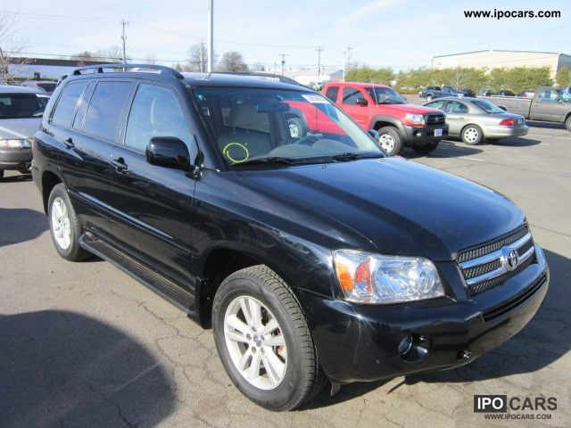 Toyota  HIGHLANDER 2007 Hybrid Cars photo
