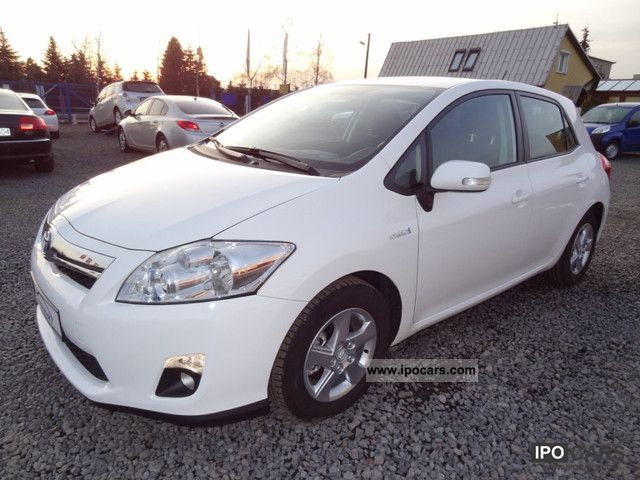 Toyota  Auris 8.1 100kW HYBRYDA HSD TRONIC AIR SOL 2011 Hybrid Cars photo