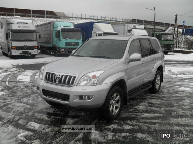 2003 Toyota  3.0 D-4D automatic leather wheel navigation Off-road Vehicle/Pickup Truck Used vehicle photo