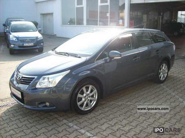 2010 Toyota  Avensis Combi 2.2 D-4D Sol, NAVIGATION, REGENSENSO Estate Car Used vehicle photo
