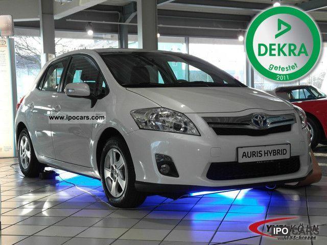 Toyota  Auris 8.1 Hybrid Life KLIMAAUTOMATIK 2012 Hybrid Cars photo