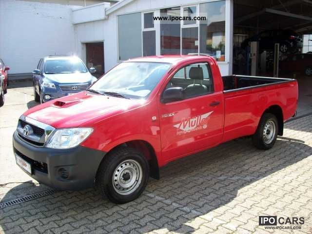 2011 Toyota  HiLux 4x2 2.5 D-4D Single Cab, AIR, POWER, ABS, L Off-road Vehicle/Pickup Truck Demonstration Vehicle photo