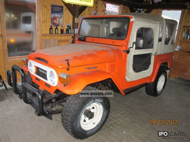 Toyota  FJ 40 1979 Vintage, Classic and Old Cars photo