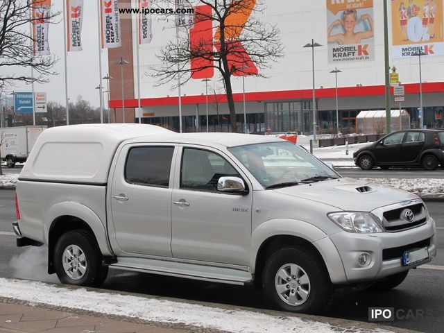 2009 toyota hilux 2 5d 4d double cab hardtop car photo and specs. Black Bedroom Furniture Sets. Home Design Ideas