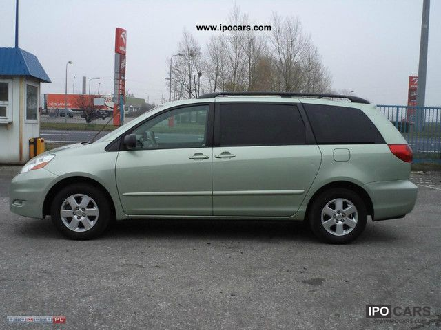 2007 Toyota sienna towing specs