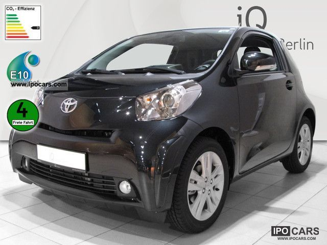2012 Toyota  1:33 iQ Multi Drive + leather Navi 4.44% financing Small Car Demonstration Vehicle photo