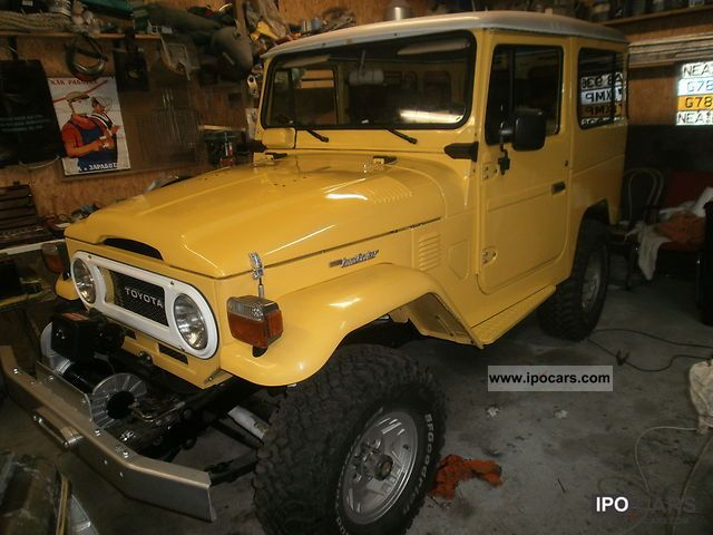 Toyota  Land Cruiser 1978 Vintage, Classic and Old Cars photo