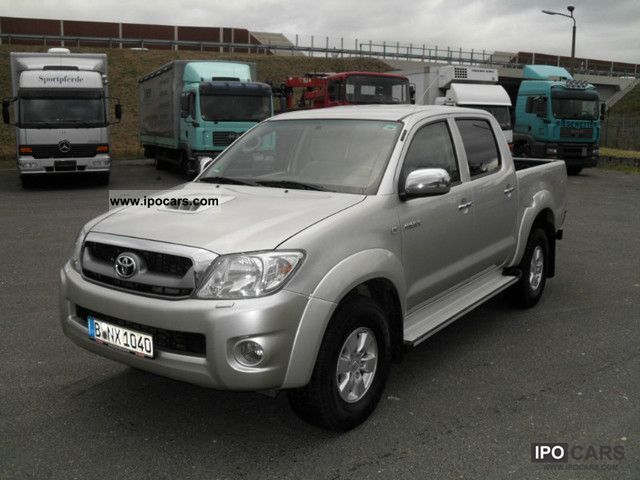 2009 Toyota  2.5 D-4D 38 tkm Off-road Vehicle/Pickup Truck Used vehicle photo