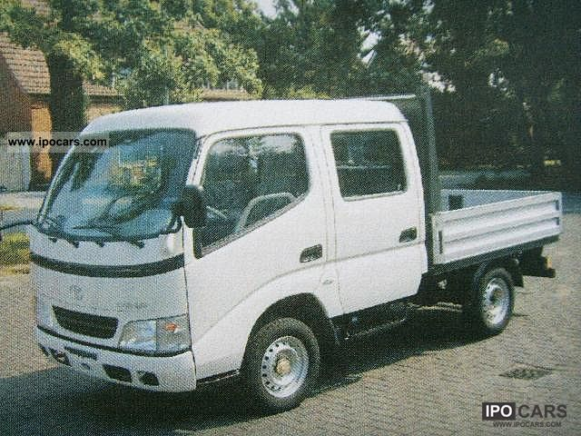 2011 Toyota  Dyna 100 3.0 D-4D Double Cab, DPF filter Other New vehicle photo