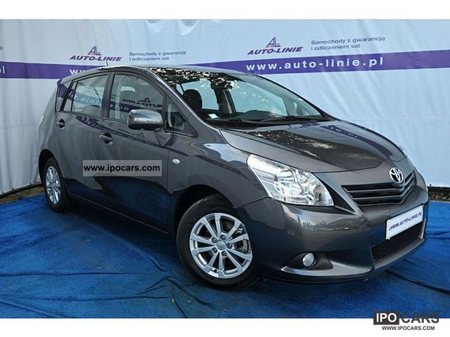 2011 toyota verso 2 0 d4d 126 premium 7 miejsc car photo and specs. Black Bedroom Furniture Sets. Home Design Ideas