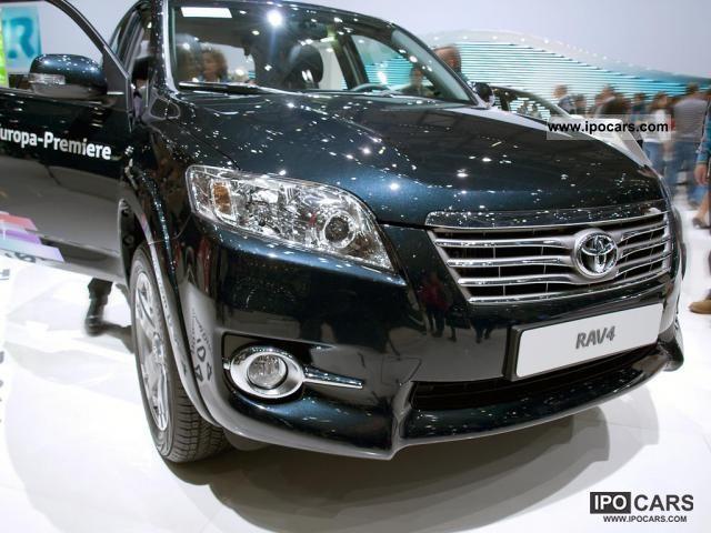 2011 Toyota  EU RAV4 4x4 2.0 T2 2.0 VVT 116 KW Other New vehicle photo