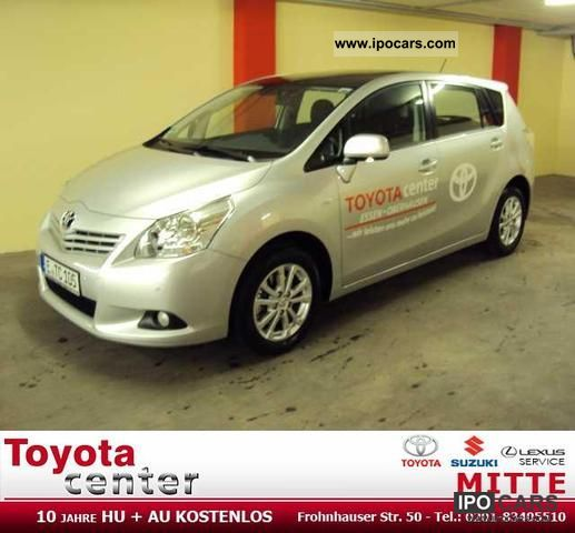 2011 toyota verso 5 seater 1 8 edition car photo and specs. Black Bedroom Furniture Sets. Home Design Ideas