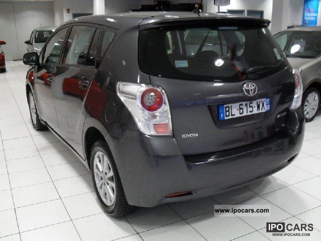2011 toyota verso d 4d 126 fap skyview edition 5pl car photo and specs. Black Bedroom Furniture Sets. Home Design Ideas