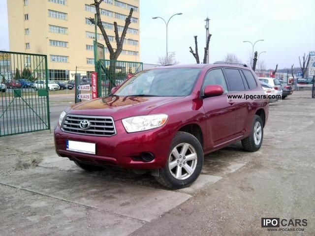 2008 Toyota Highlander 3 5 V6 - Car Photo and Specs