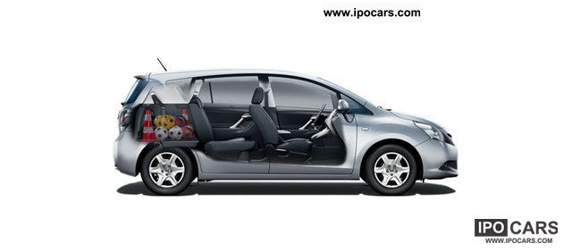 C Max 7 Seater >> 2011 Toyota Verso 7-seater 1.8 Sonderm TravelMate 2012 automatic - Car Photo and Specs
