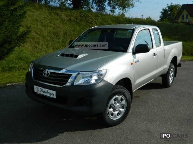 2011 Toyota  2.5l Hilux 4x4 X-tra Cab EURO5 Off-road Vehicle/Pickup Truck New vehicle photo