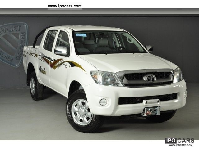 2011 Toyota Hilux Double Cab Off Road Vehicle/Pickup Truck