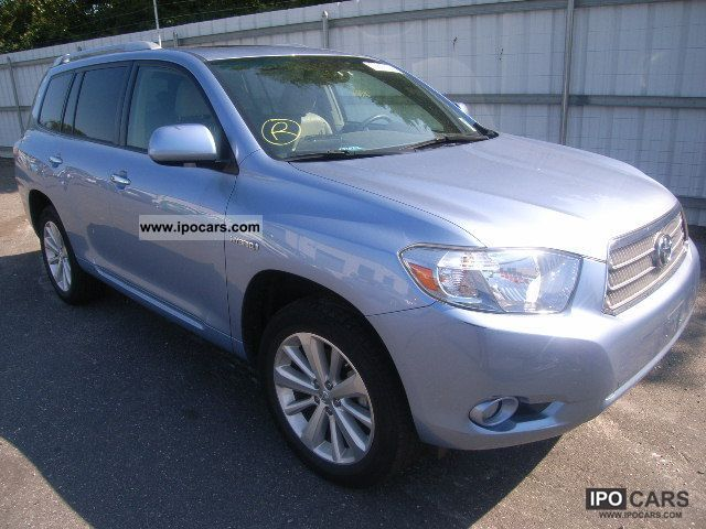 Toyota  HIGHLANDER 2009 Hybrid Cars photo