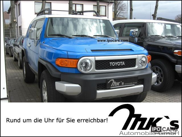2008 Toyota Fj Cruiser 4x4 4 0 V6 Upgrade Convenience
