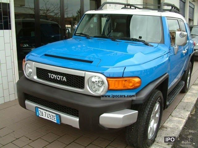 Toyota  FJ Cruiser 4.0 VVT-I 242cv GPL 2006 Liquefied Petroleum Gas Cars (LPG, GPL, propane) photo