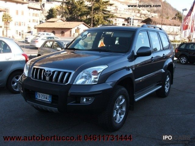 2006 toyota land cruiser 3 0 d 4d sol 16v cat 5 porte. Black Bedroom Furniture Sets. Home Design Ideas