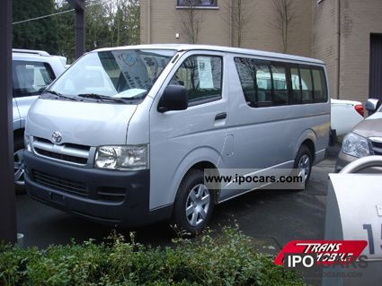 2011 Toyota  HIACE MINIBUS 2.5 D4D Standard 15 seats Van / Minibus New vehicle photo