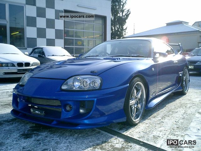 1993 Toyota Supra Mk Iv Turbo Car Photo And Specs