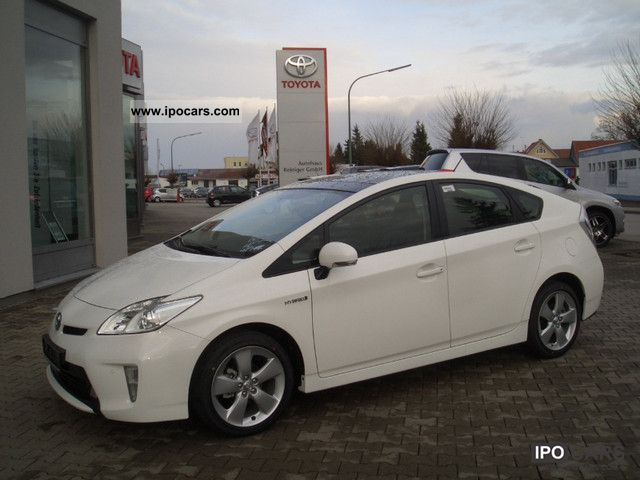 2011 Toyota  Prius 1.8 Hybrid Navi Life, Solar-MJ SD 2012 Limousine New vehicle photo