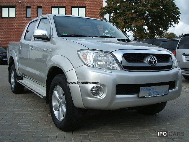 2009 toyota hilux aut 4x4 double cab executive leather navi off road