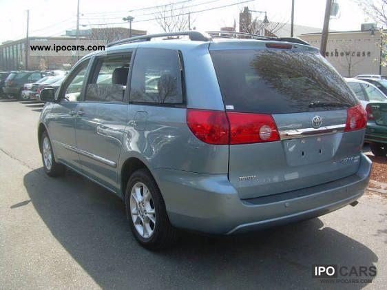 2006 toyota sienna xle limited awd t1 27900 usd car photo and specs. Black Bedroom Furniture Sets. Home Design Ideas