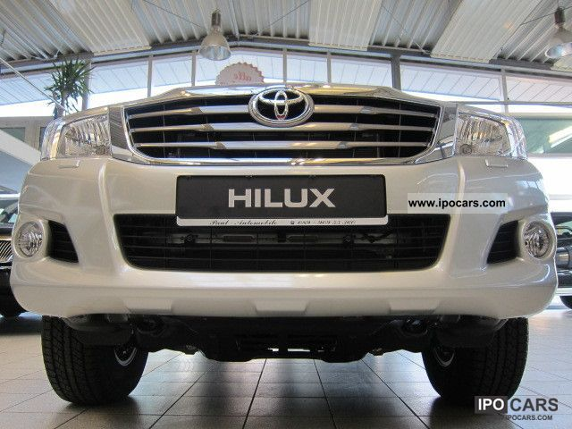 2012 Toyota  4x4 HILUX DOUBLE CAB REVERSING CAMERA STOCK-\ Off-road Vehicle/Pickup Truck Pre-Registration photo