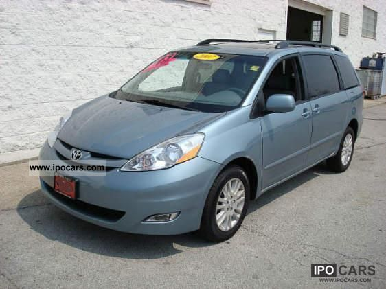 2007 Toyota  SIENNA XLE AWD (T1 = 28900 USD) Van / Minibus Used vehicle photo