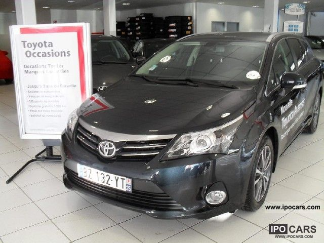 2012 Toyota  124 d4d Avensis Break Style Estate Car Used vehicle photo